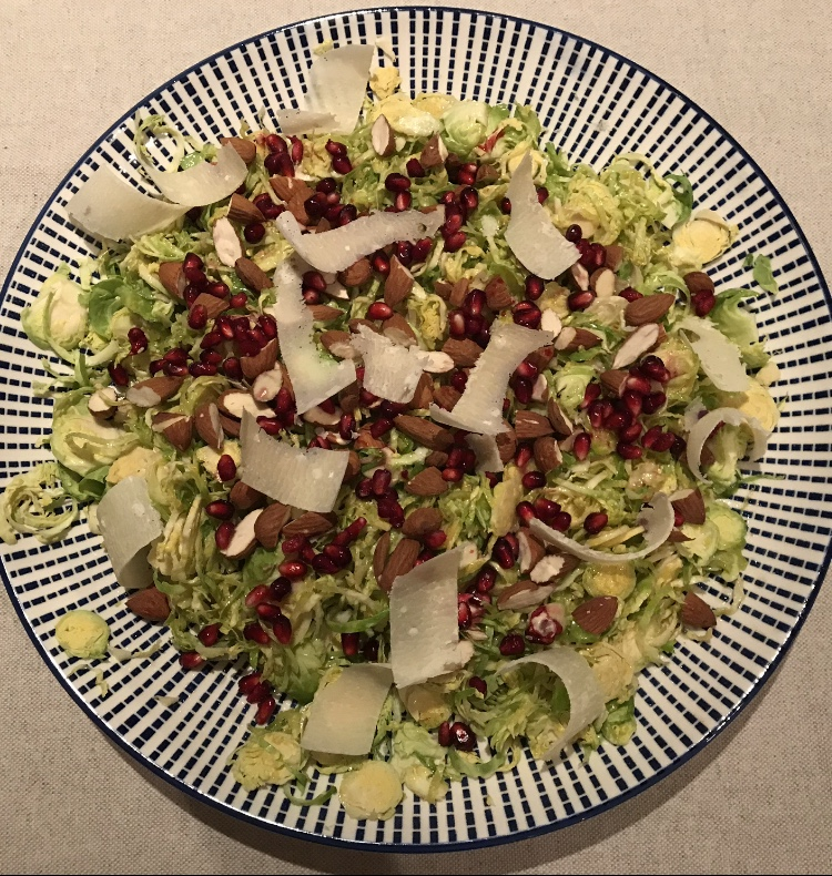 Day 12 Framar Health Training Tip Brussel Sprout Salad Recipe