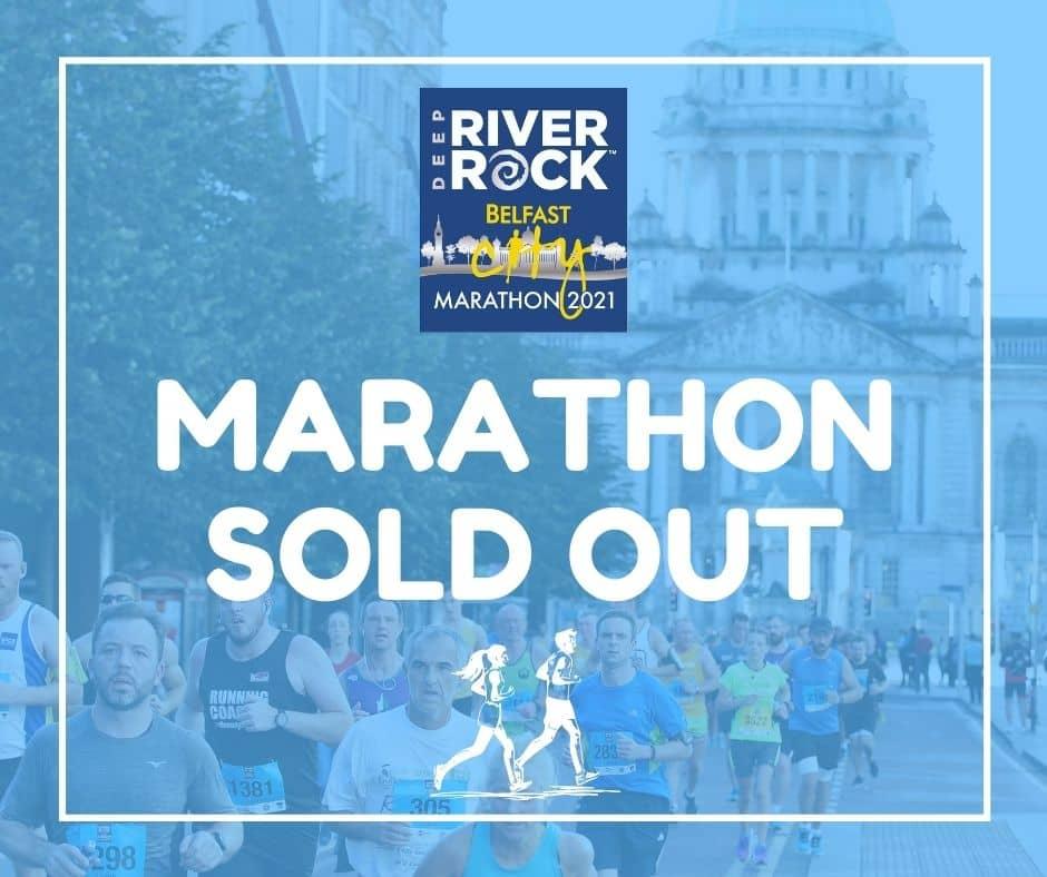 2021 Deep RiverRock Belfast City Marathon Now Sold Out