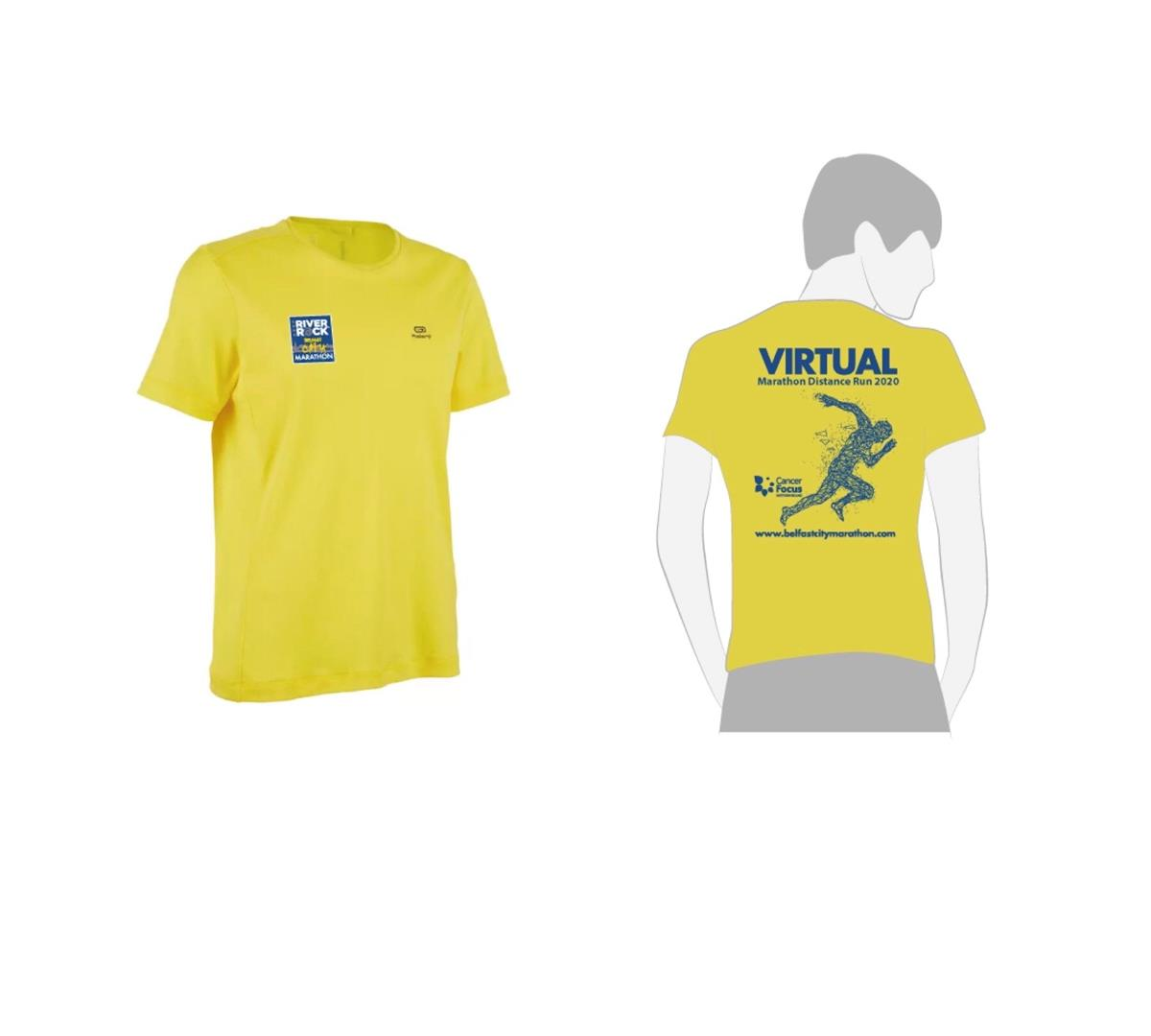 Virtual Marathon Distance Run Tech Tee